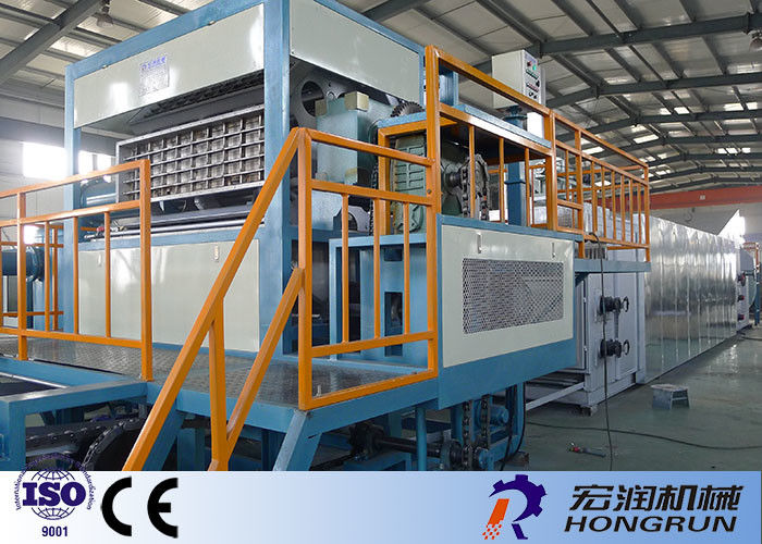 Multi Functional Paper Egg Tray Making Machine Rotary Type 3000PCS / HR